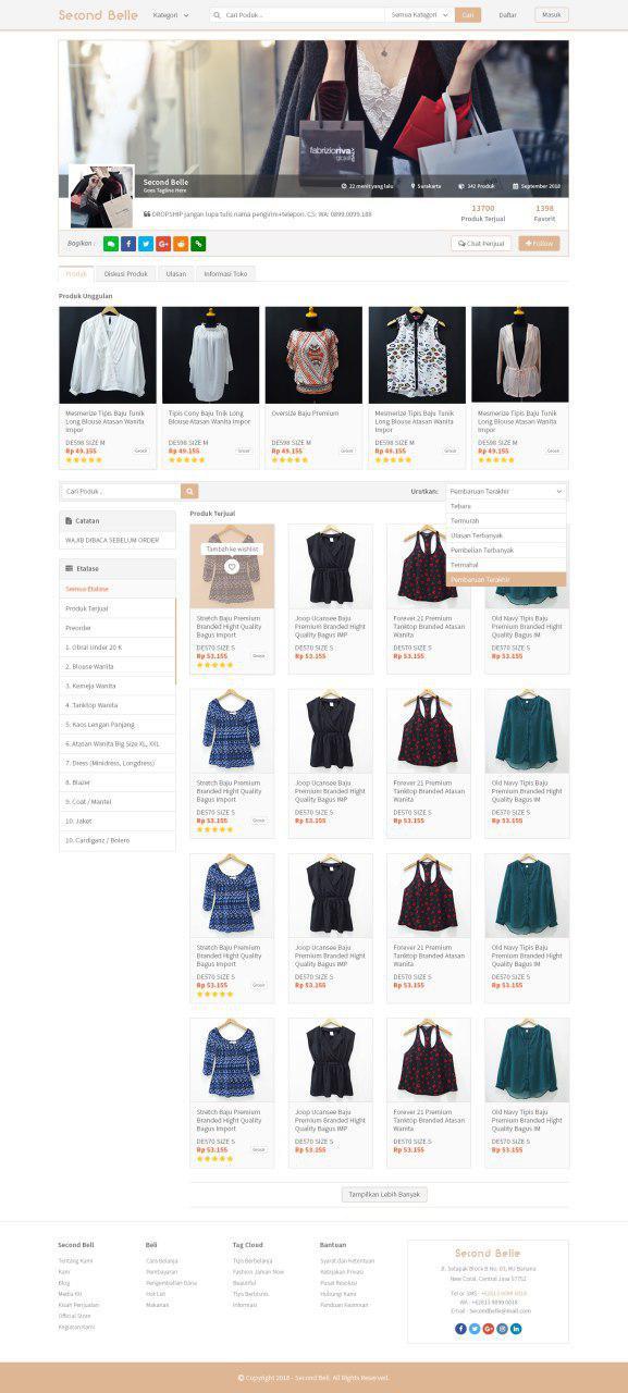 MockUp Desain Website