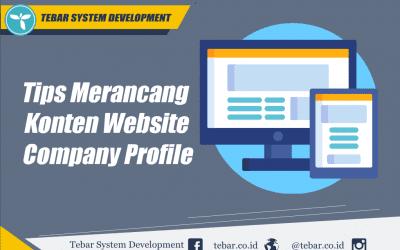 Tips Merancang Konten Website Company Profile Untuk Bisnis Anda