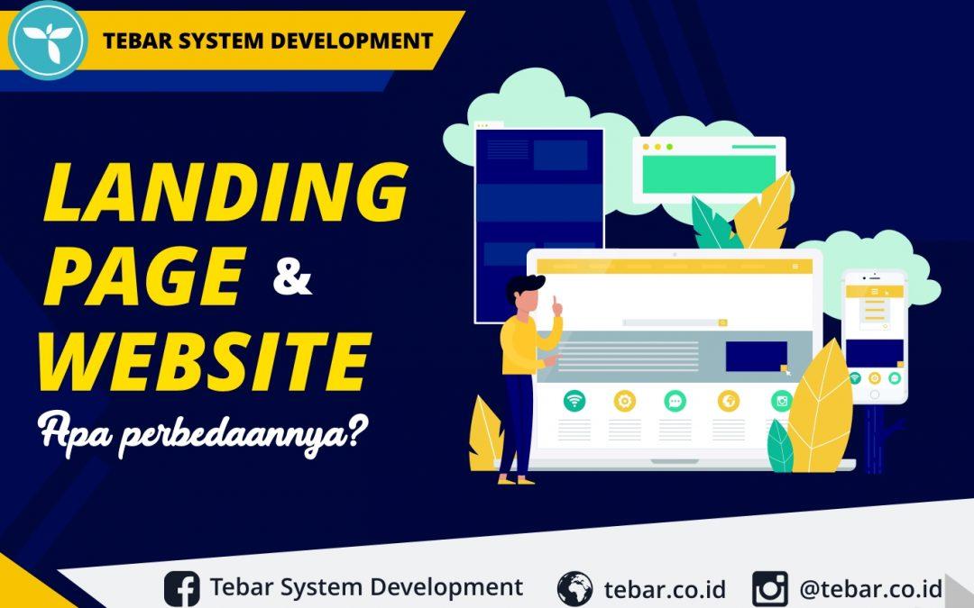 Landing Page dan Website, Apa Perbedaannya?